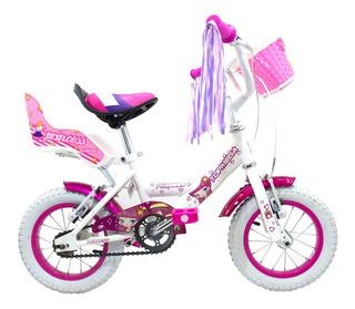 Bicicleta Niña Princess Top Mega Rod. 12