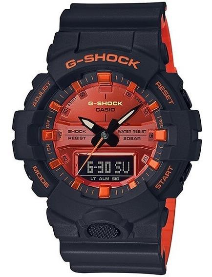 Relógio Casio G-shock Ga-800br-1adr Analógico E Digital
