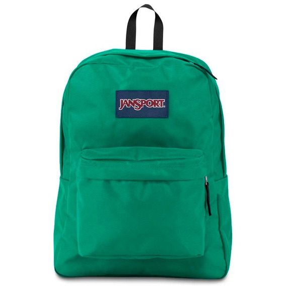 Mochila Escolar Jansport Superbreak Varsity Green