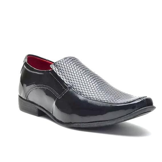 Sapato Eleganci Masculino Social Preto Classico 006722