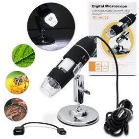 Microscópio Profissional Digital Zoom 1000x Usb