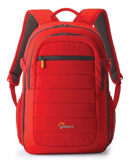 Mochila Para Camara Lowepro Tahoe Bp 150 Tripie Tablet Rojo