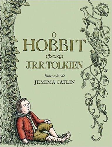 O Hobbit Ilustrado- Português Tolkien Capa Dura Tecido