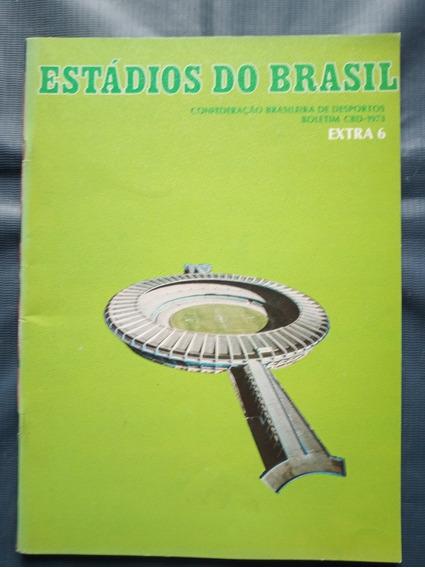 Coca Cola - Estádios Do Brasil N* 6 - Cbd - 1973