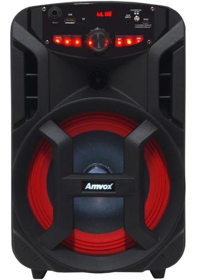 Caixa Som Amplificada Portátil Bluetooth 130w Rms Mp3 Fm Usb