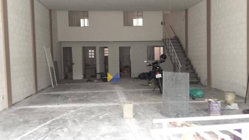 Salão Novo Para Alugar, 153 M² Por R$ 3.500/mês - Vila Barros - Guarulhos/sp - Sl0011