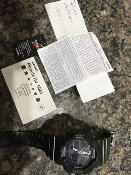 Relógio Casio G Shock Original Ga100