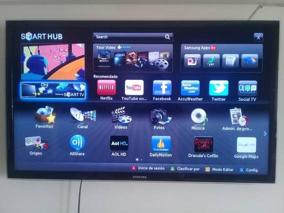 Television Sansumg Smart Tv 46 Con Su Control Y Base