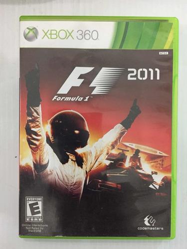 F1 2011 Formula 1 Xbox360