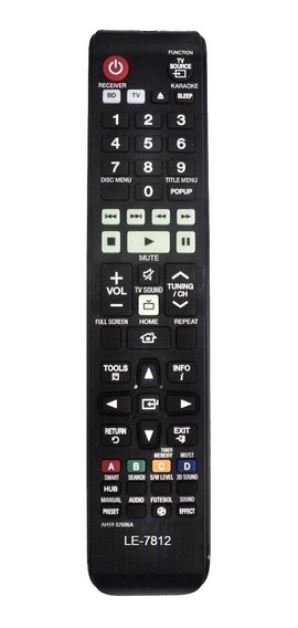Controle Home Theater Samsung Ht-f5505k Ah59-02606a