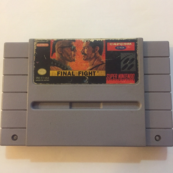 Cartucho Final Fight 1 Original Super Nintendo