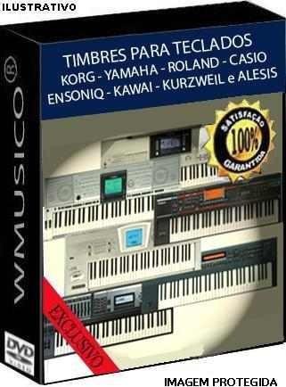 Timbres - Teclados Korg Yamaha Roland Casio Kurzweil Alesis