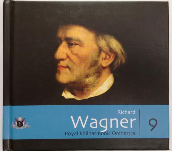 Cd Coleção Folha Música Clássica - Vol.9 Wagner - Com Livro