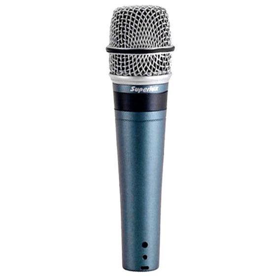 Microfone C/ Fio De Mão Dinâmico - Pro 258 Superlux
