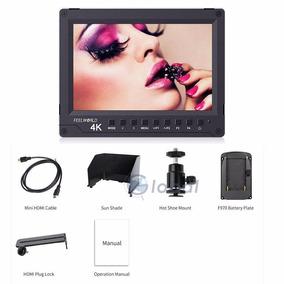 Monitor Feelword 4k A737 Ips Gh4 A7rii A7s Ii 5d Mark Iv Nik