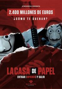 4 Posters Sortidos La Casa De Papel