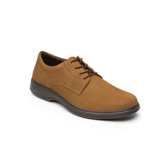 Zapato Choclo Flexi Caballero 59301 Ocre