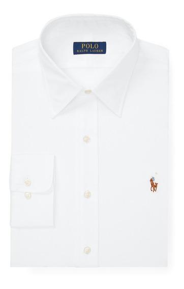 Camisa Social Polo Ralph Lauren Tamanho G / L Custom Fit