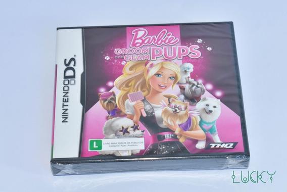 Barbie Groom And Glam Pups - Nintendo Ds - Lacrado