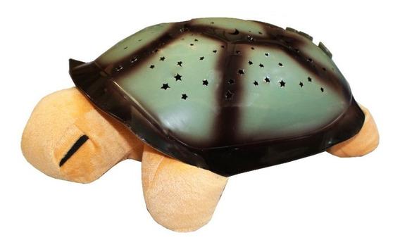 Tartaruga Musical Protetora Projetor De Estrelas