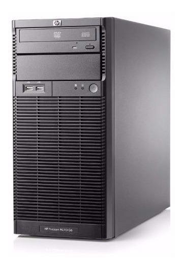Servidor Hp Proliant Ml110 G6 4core 2.40 Ghz X3430 Dd 250gb