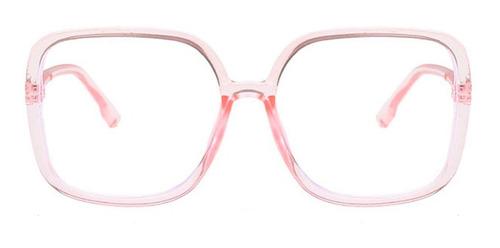 Gafas Grandes Cuadradas Marco Montura Lentes Mujer Unisex