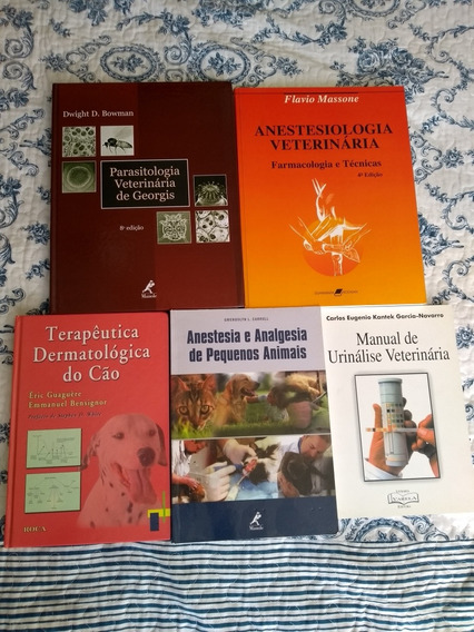 Livros Medicina Veterinária Cada Unidade
