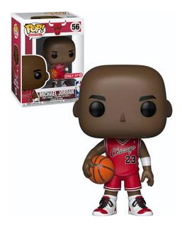 Michael Jordan Chicago Bulls Exclusive Funko Pop Caja Dañada
