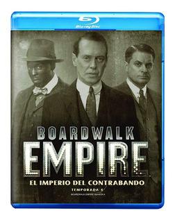 Boardwalk Empire Cuarta Temporada 4 Cuatro Blu-ray