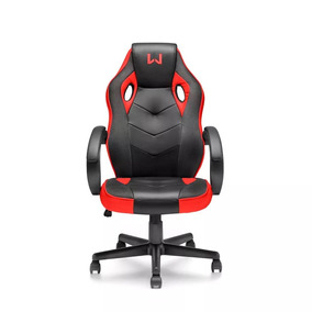 Cadeira Gamer Vermelho Warrior