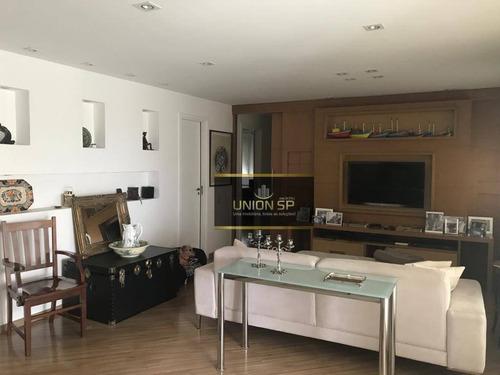 Apartamento Com 3 Dormitórios À Venda, 136 M² Por R$ 1.200.000,00 - Santo Amaro - São Paulo/sp - Ap43333
