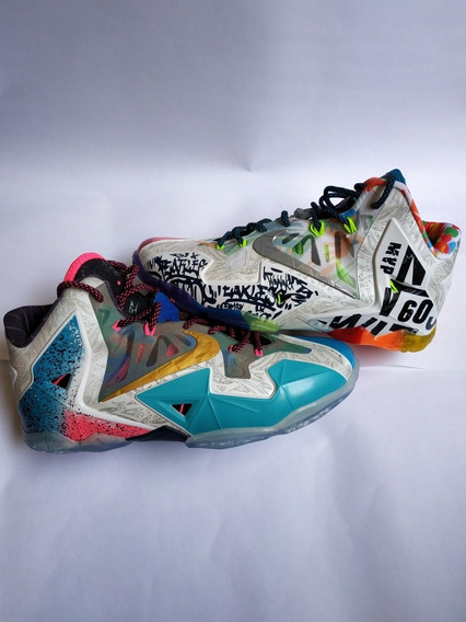 Tênis Lebron James 11 What The Basquete Jordan