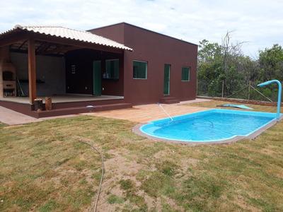Casa Em Condomínio Com 2 Quartos Para Comprar No Condomínio Estância Da Mata Em Jaboticatubas/mg - Blv4932