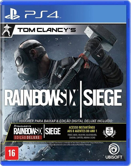 Rainbow Six Siege Deluxe Edition Ps4 Mídia Física Português