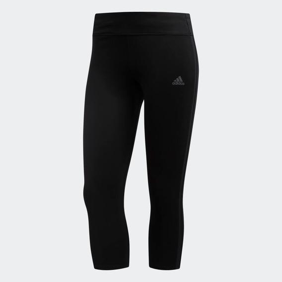 Calzas adidas Own The Run 3/4