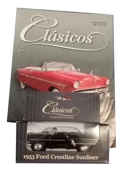 Ford Crestliner Sunliner 1953 - Colección Autos Clásicos