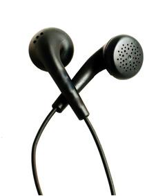 Kit 10 Fone De Ouvido Preto Com Microfone 98cm Stereo