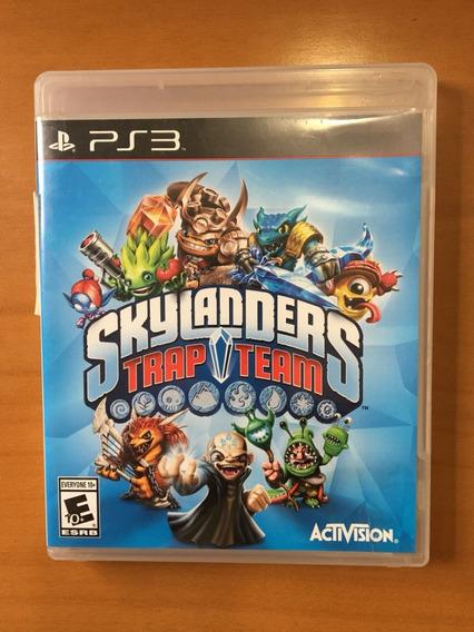 Skylanders Trap Team - Ps3 - Somente Jogo Midia Fisica