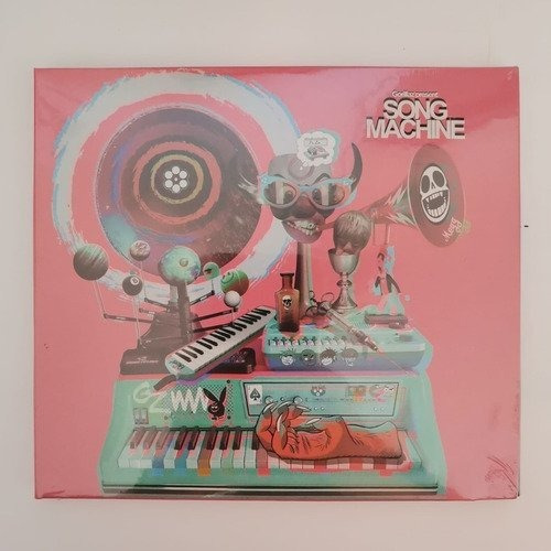 Gorillaz Song Machine Season One (2) Cds Nuevo Musicovinyl