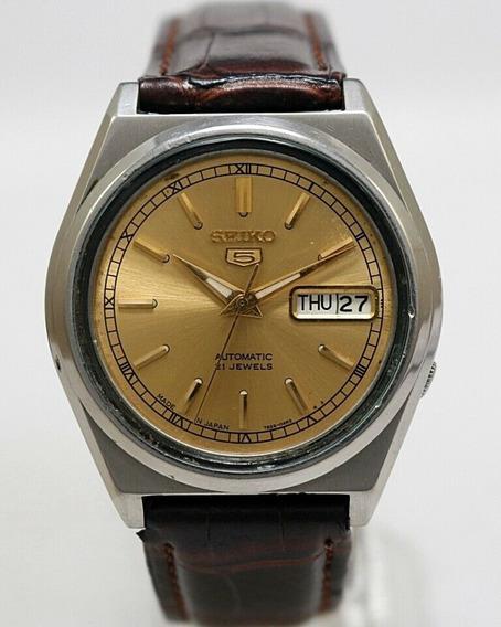 Relógio Seiko 5 Automático 7s26 04r2 Perfeito Estado Lindo