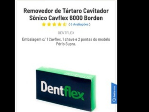 Imagem 1 de 3 de Cavitador Sônico Dentflex