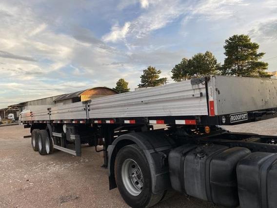 Carreta Carga Seca Grade Baixa 2014 Com Porta Container