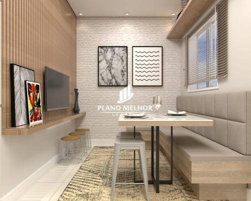 Apartamento Em Condomínio Studio Para Venda No Bairro Vila Ré, 1 Dorm, 30 M.ap1355 - Ap1355