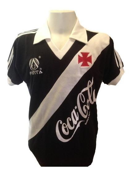 Camisa Retrô Vasco Da Gama Campeão Brasileiro 1989