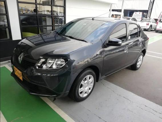 Renault Logan Motor 1.6 2019 Gris 5 Puertas