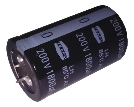Capacitor Eletrolítico Snap 1800uf 200v