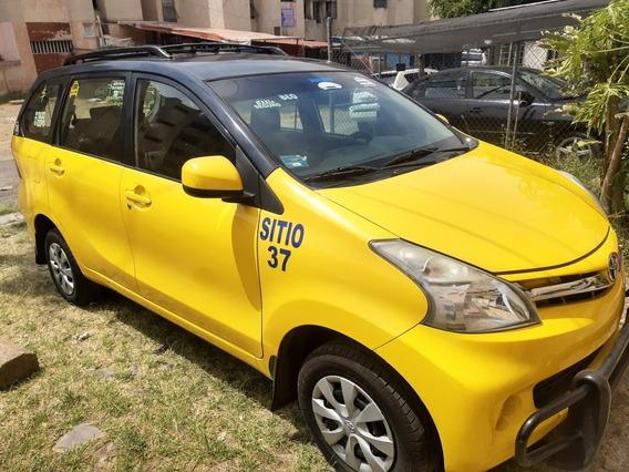 Avanza Taxi Sitio 37 Con Renta De Placas Lista Para Trabajar