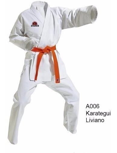 Karategui Semi Pesado,- Talla 000 Al 0 - Marca Banzai