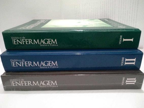 Coleção Livro Didático De Enfermagem - Teoria E Prática