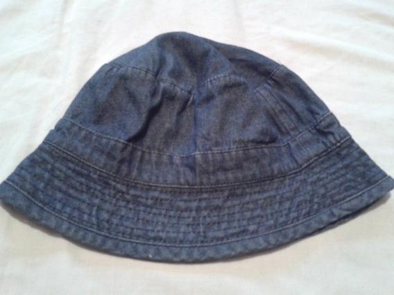 Sombrero De Jean Tipo Pescador Usado Impecable